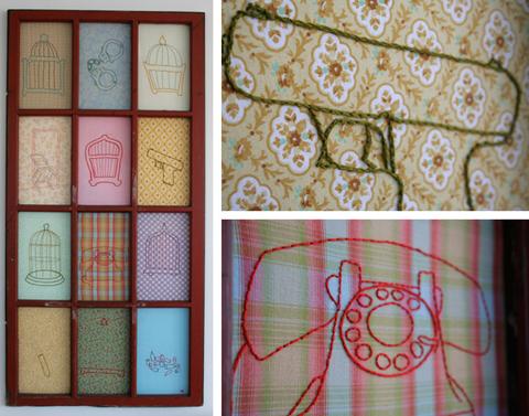 Alli Coate Domestic Violence Embroidery