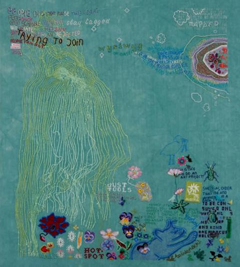 Tilleke Schwarz WYSIWYG embroidery