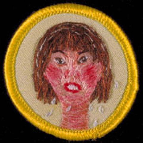 Mary Yaeger Merit Badge - Hot Flash