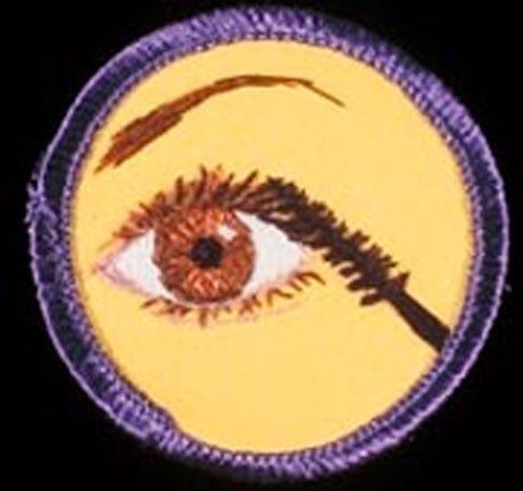 Mary Yaeger Merit Badge - Mascara