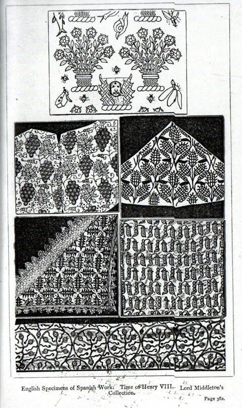 Historical Specimen of Spanish Blackwork
