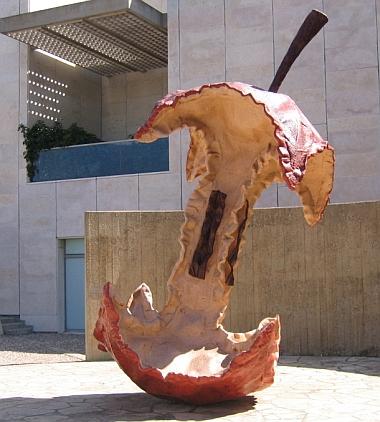 Claes Oldenburg Apple Core Sculpture