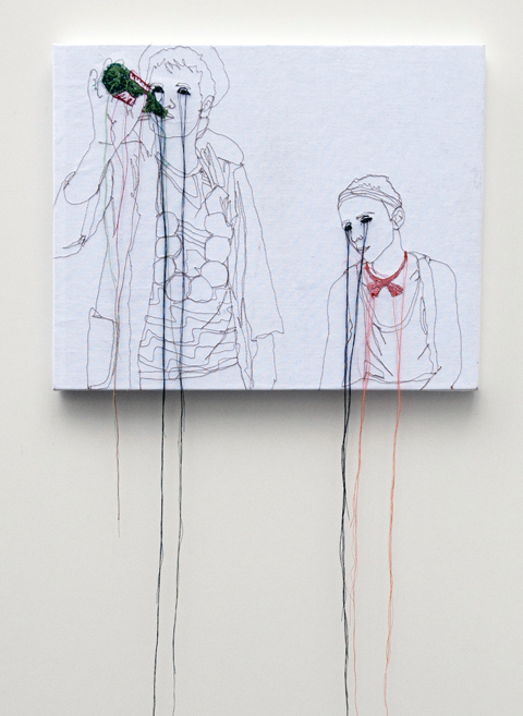 Nike Schroeder embroideries - Holger and Moritz