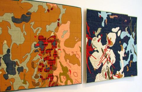Leah Evans Textile Maps