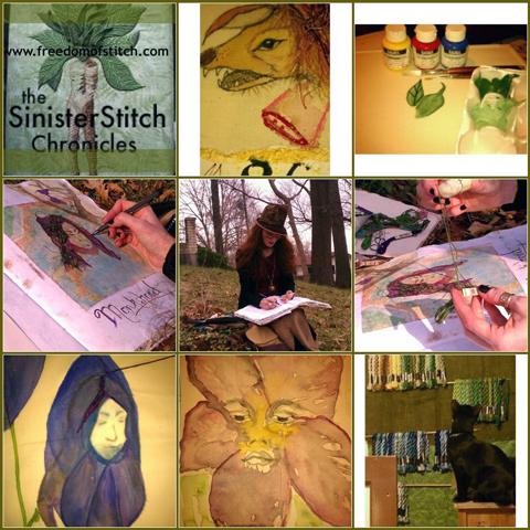 Victoria Crowder Payne - Sinister Stitch Chronicles
