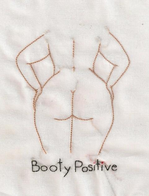 Alaina Varrone - Booty Positive Hand Embroidery