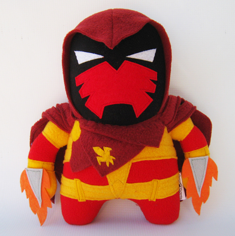 Channel Changers' Azrael plush
