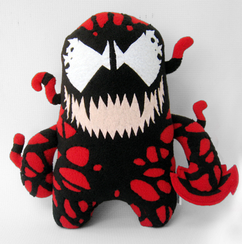 Channel Changers' Carnage plush