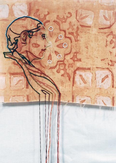 Amelia Harnas - Rain-Pearls from the Eucharis hand embroidery