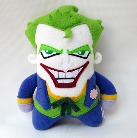 Channel Changers' Joker plush