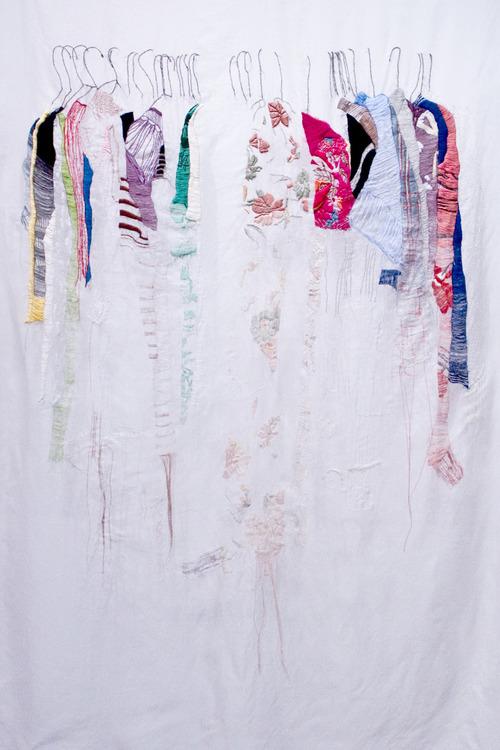 Allison Watkins - My Closet In San Francisco - Hand Embroidery