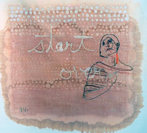 Amelia Harnas - Start Over hand embroidery