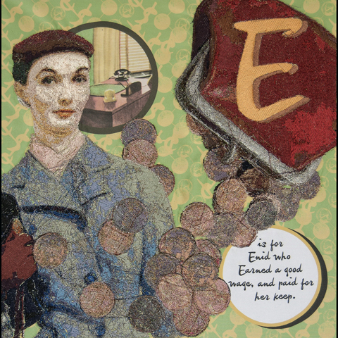 Jessica Larsen - E is for Enid