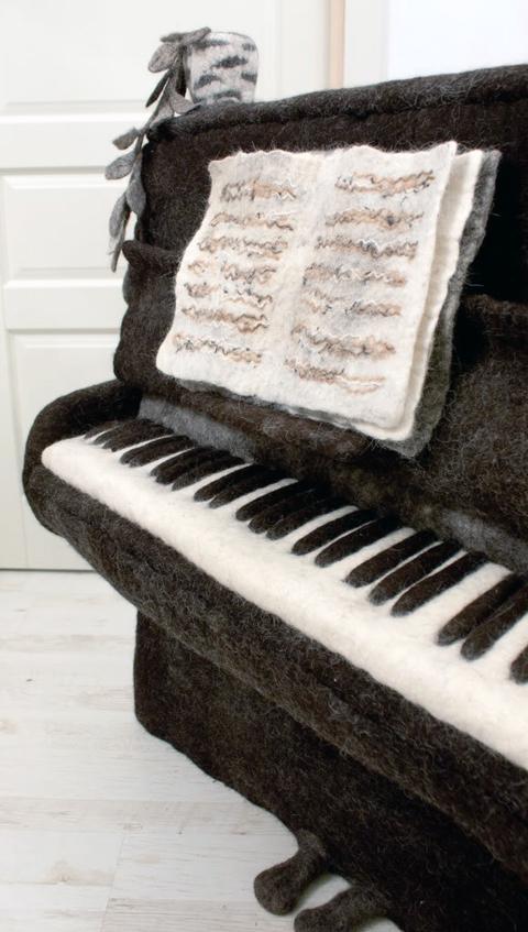 Irina Andreeva - Piano - Needle Felting