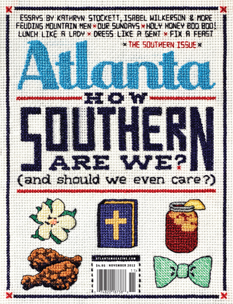 Aubrey Longley-Cook - Atlanta Magazine - Southern Issue Cover