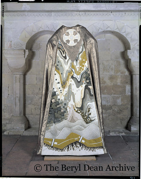 Beryl Dean - Enthronement Cope - Reproduced with permission of the Dean and Chapter of Canterbury Cathedral