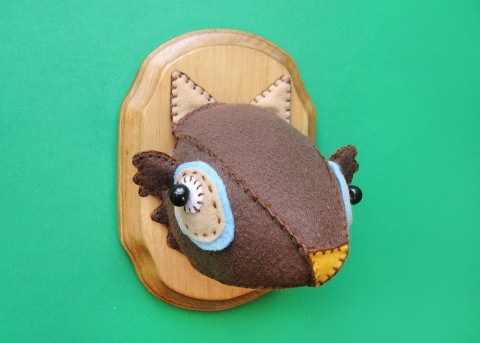 Anatomically Incorrect Creatures - The Foxy Owl
