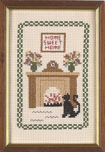Home Sweet Home Cross Stitch from Jane Greenoff