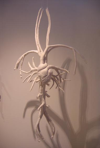 Karine Jollet - Arborescence Du Coeur - soft sculpture