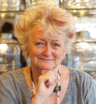Jane Greenoff, renowned cross stitch designer and author