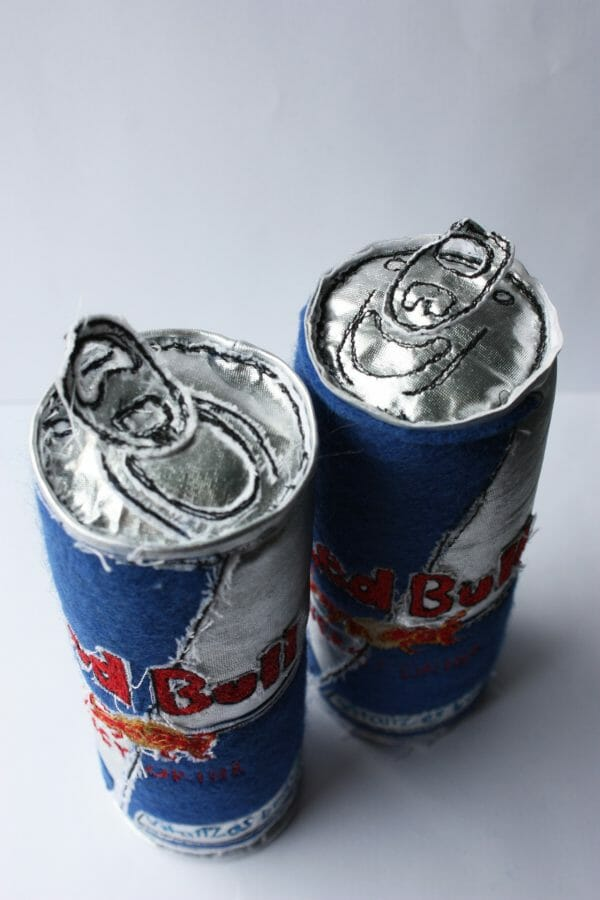 Holly Levell - Red Bulls - Soft Sculpture