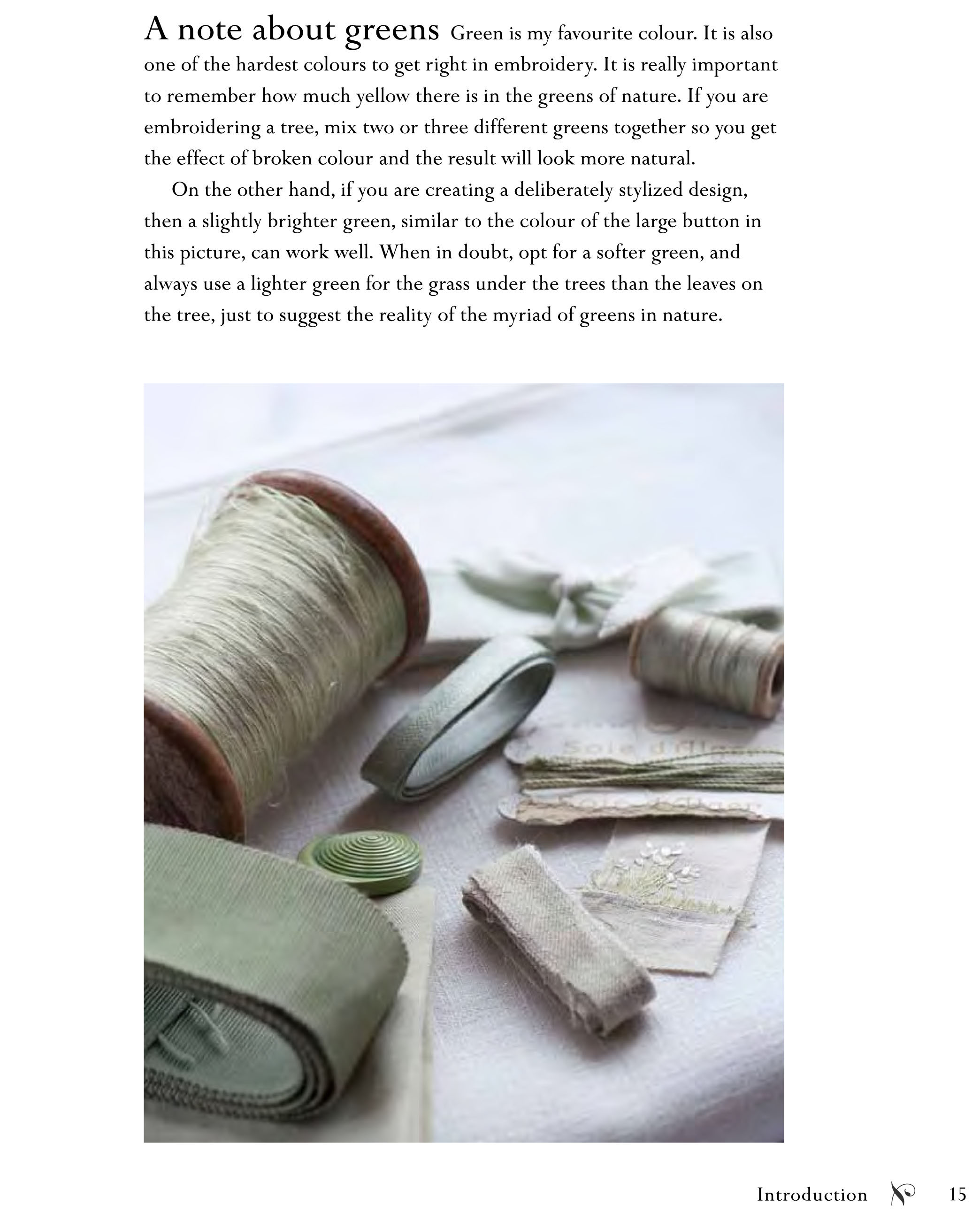 """The Hand-Stitched Home: Projects and Inspiration for Creating Embroidered Textiles for the Home by Caroline Zoob."