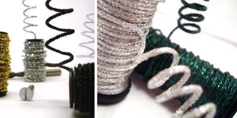 Wired metallic braids