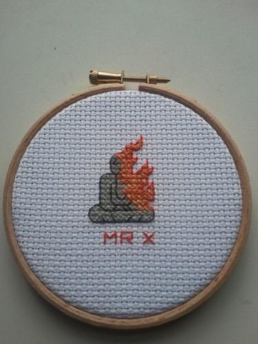 MrXStitch - Immolation - Cross Stitch
