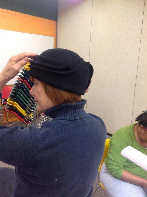 Margot Johnson's Freeform Hat