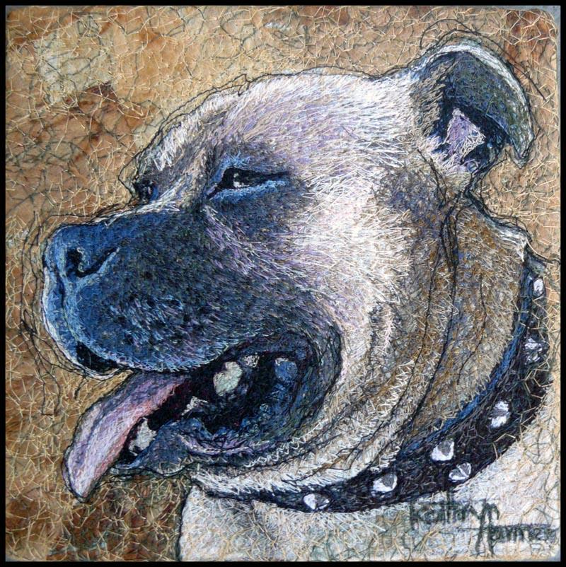 Kathryn Harmer Fox - Portrait of a Dog
