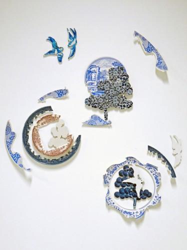 Harriet Lawton - Ceramic Collage