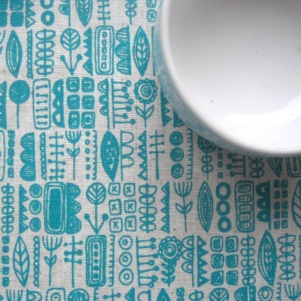 Textyles Screen Gems Screen Printed Fabric Mr X Stitch