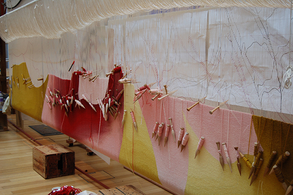 Dovecot Studios - Scottish opera Alison Watt commission