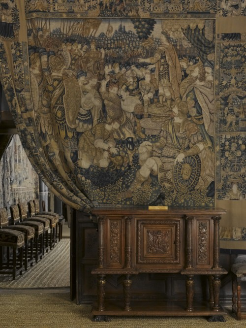 Tapestry at Hardwick Hall, National Trust