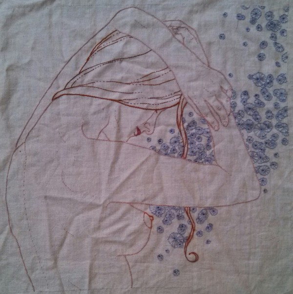 MeaganIleana - Untitled - Hand Embroidery (2013)