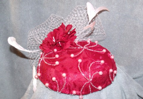 Etsy OvertheTopHats Cocktail Hat