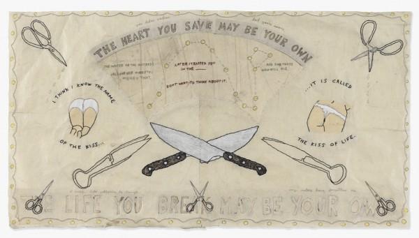 David Curcio - The Heart You Save - Hand Embroidery