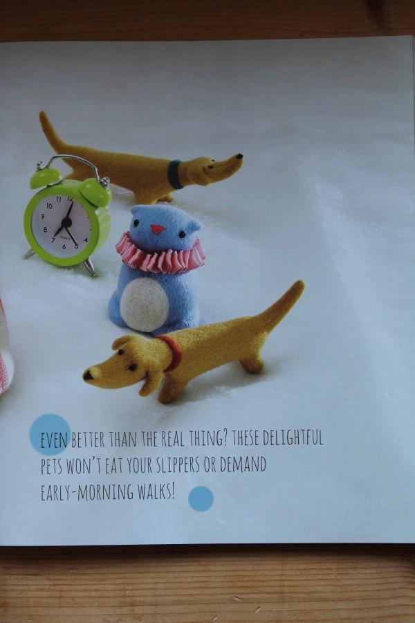 Little Needle-Felt Animals by Gretel Parker