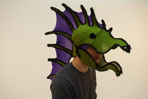 Seth Brenneman - Green Dragon Mask