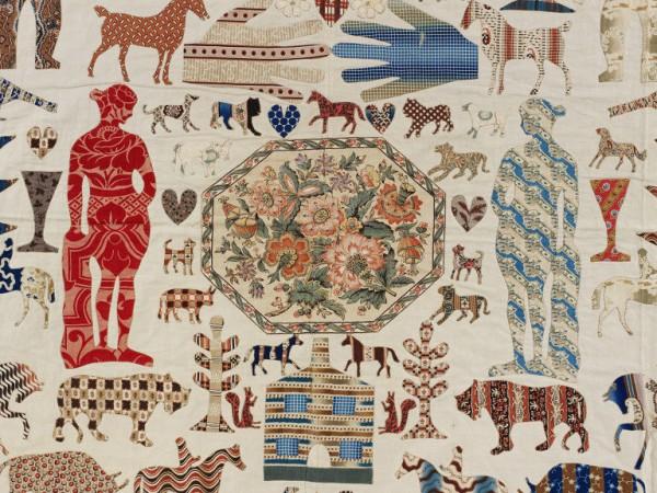 applique quilt 1851-1900 ©V&A