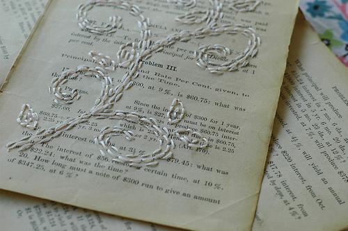 White on White, detail.
