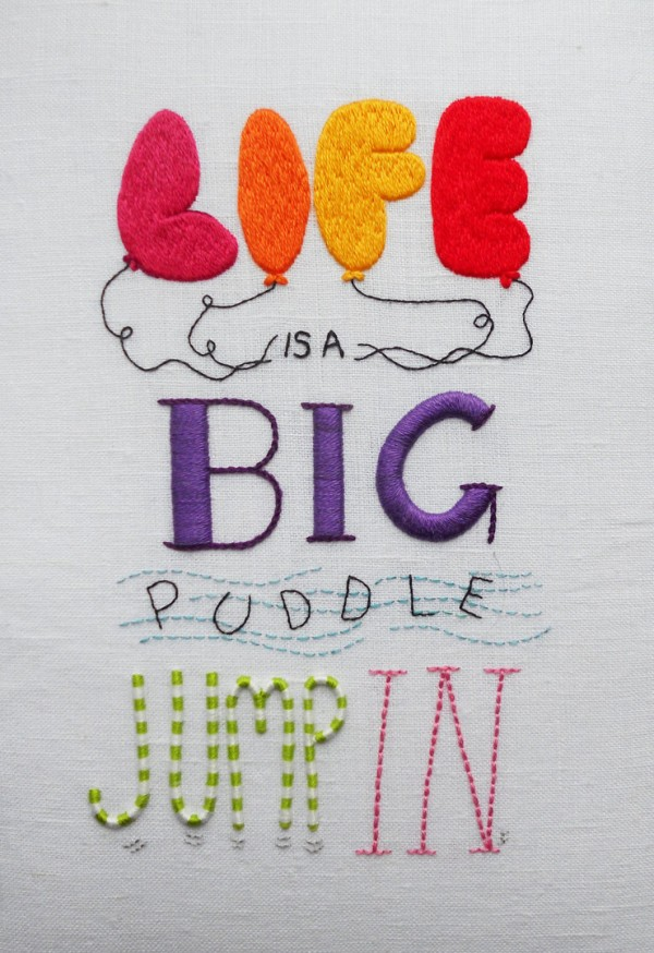 Laura Mason - Life is a big puddle