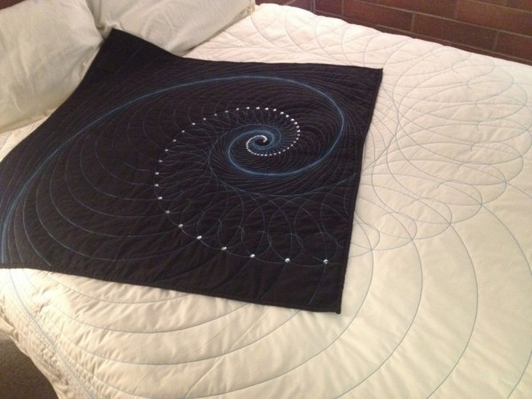 Fibonacci sequins.