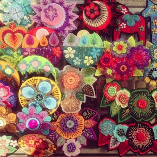 Stitched Collection by Applique Originals (Hand Embroidery)