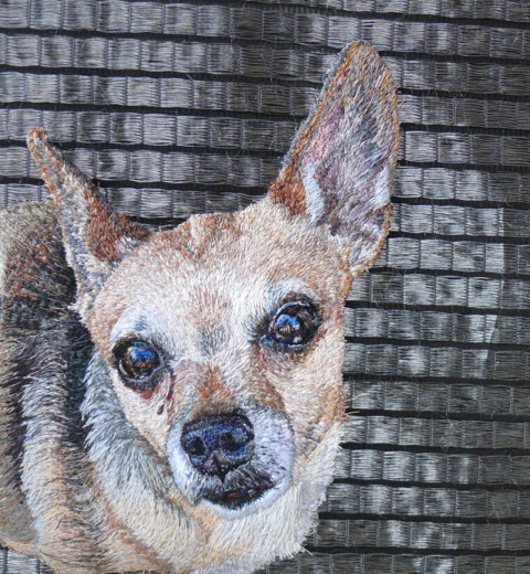 Stacey Chapman - Chihuahua - Machine Embroidery