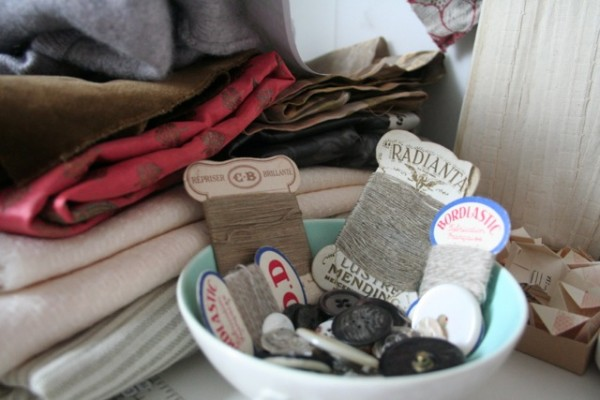 Vintage threads (collection of Ruth Singer)