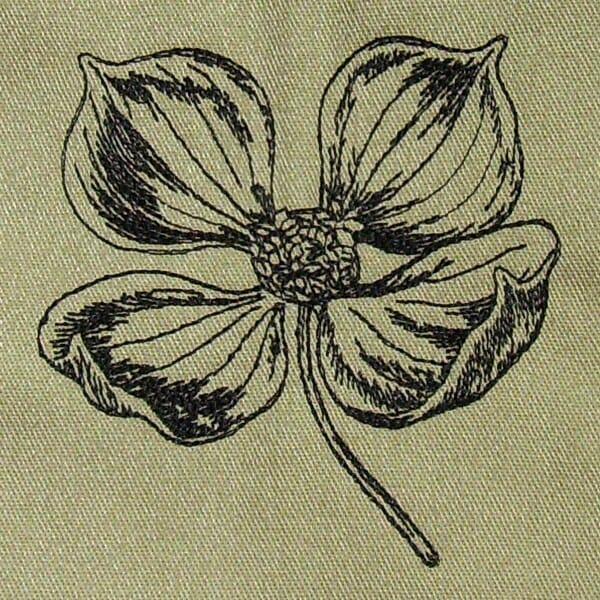 Dogwood Flower Design