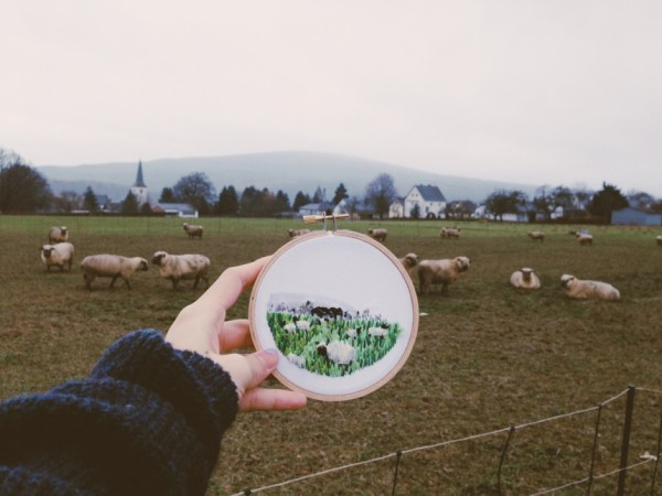 Teresa Lim - Sew Wanderlust Frankfurt - Hand Embroidery