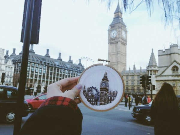 Teresa Lim - Sew Wanderlust London - Hand Embroidery