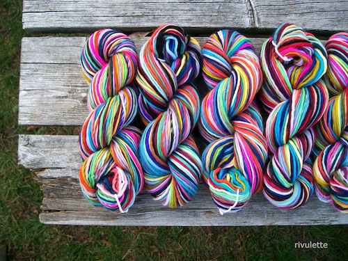 32 Flavors Yarn by Rivulette (Hand Spinning)